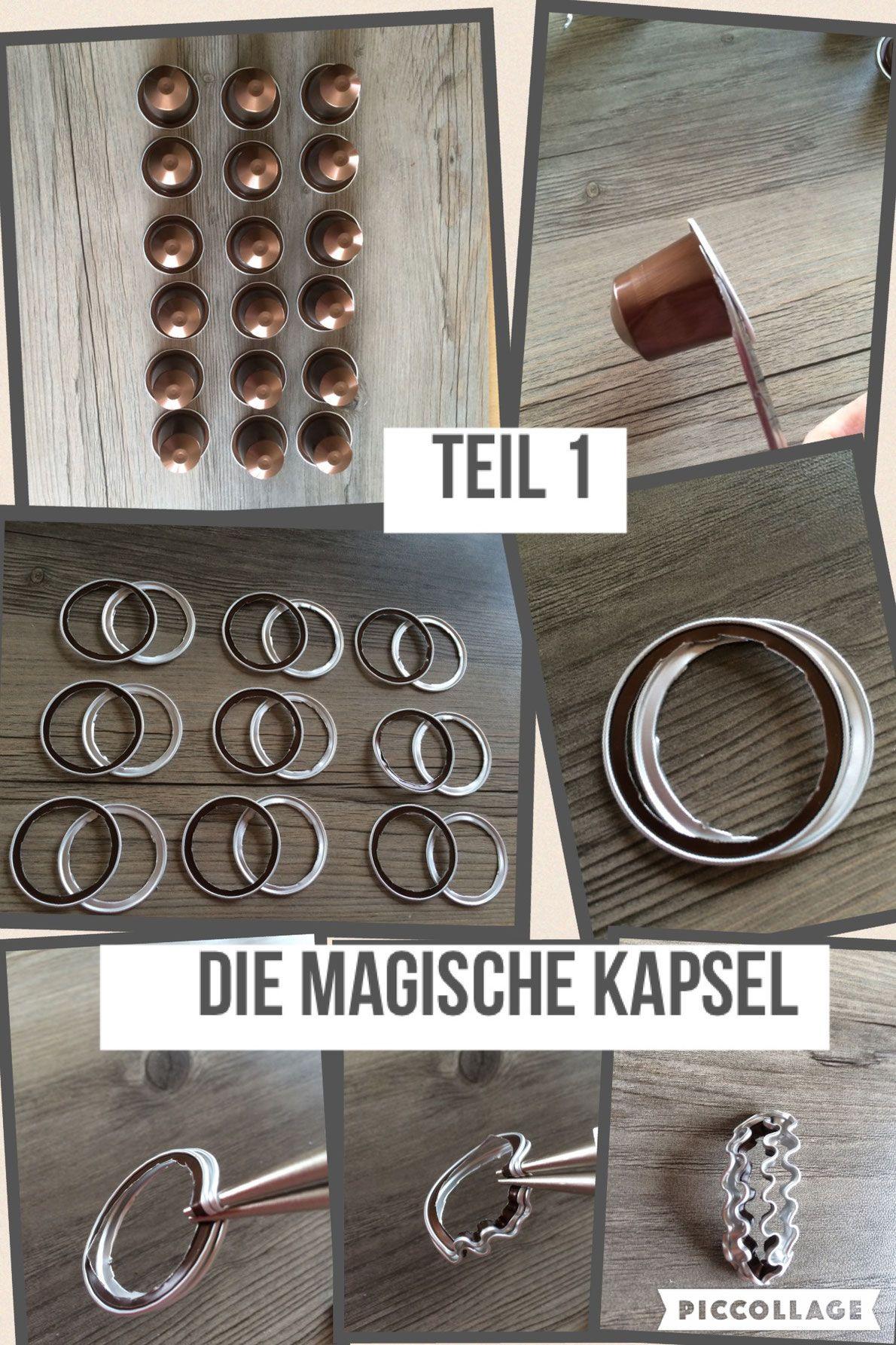 BILD-Anleitungen | Basteln | Pinterest | Anleitungen, Nespresso ...