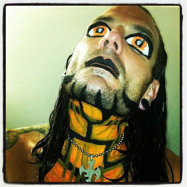 Pin by Kathy Lorenz on Jeff hardy   Jeff hardy face paint ...Jeff Hardy Wrestlemania 25 Face Paint