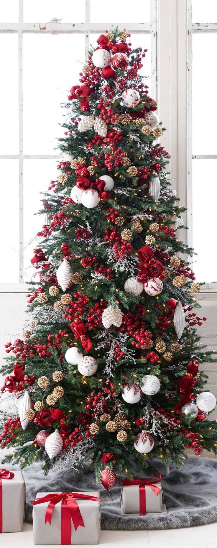 55 Rustic Christmas Decorating Ideas| Country Christmas Decor for 2019 #christmastree