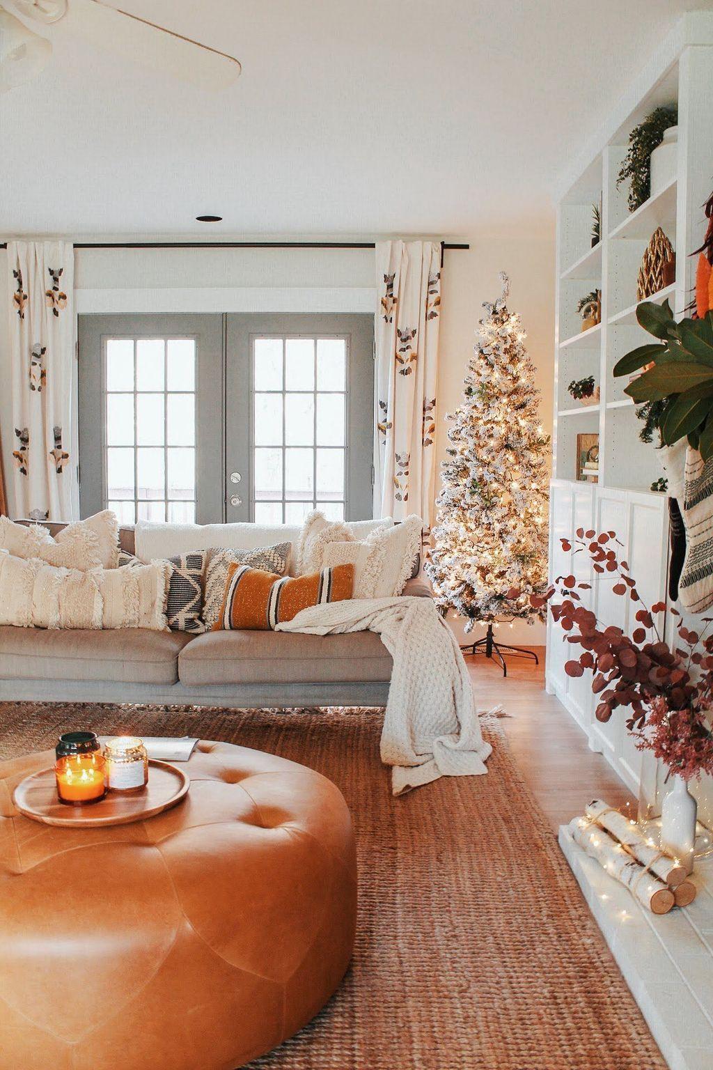 36 nice boho farmhouse design ideas for your living room
