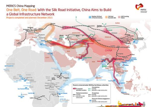 The Silk Road Economic Belt - Chinese development strategy to build a  global infrastructure network. Quelle: globalresearch.ca | Silk road, Map,  China