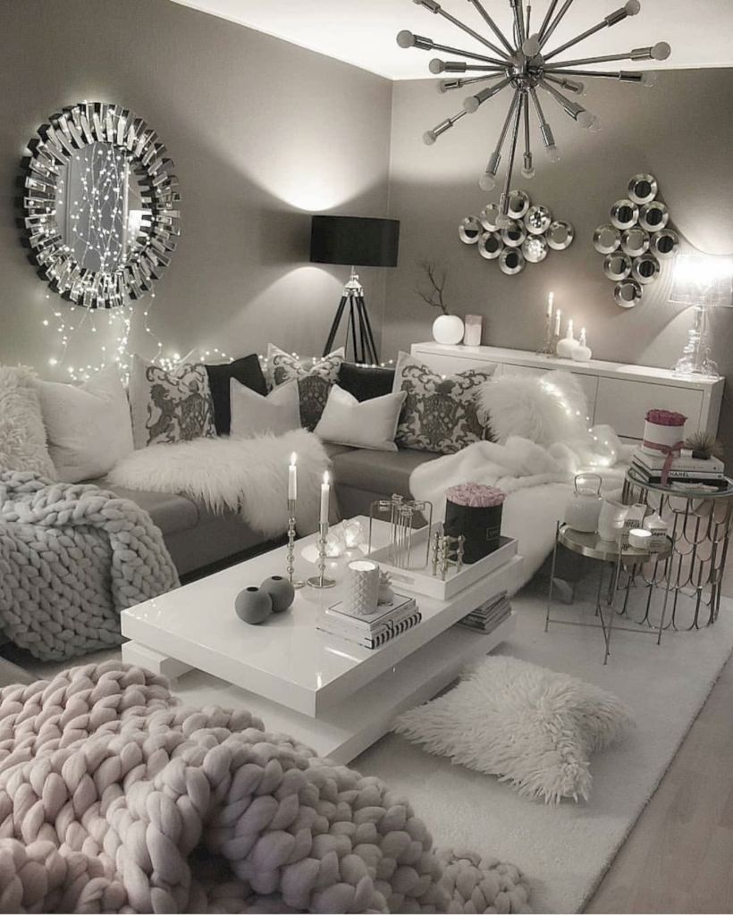 48 Favorite Winter Decor Ideas For Living Room Living Room Decor