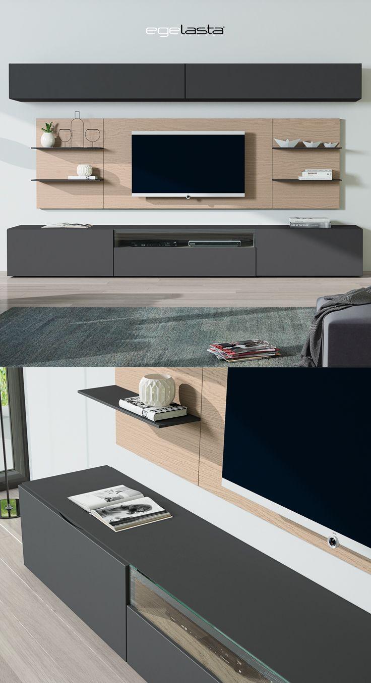 Egelasta Mueble Moderno Madera Mobiliario De Hogar D A  # Muebles Egelasta