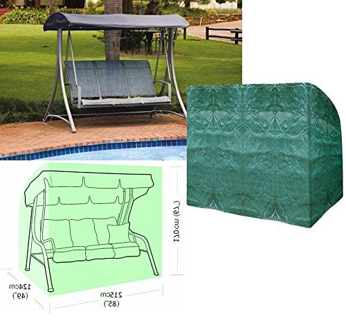 toucan 3 seater hammock swing cover with rope  u0026 eyelets made of polyethylene heavy duty durable with 2 zips and green color dimensions l  215cm x w  124cm x     toucan 3 seater hammock swing cover with rope  u0026 eyelets made of      rh   pinterest