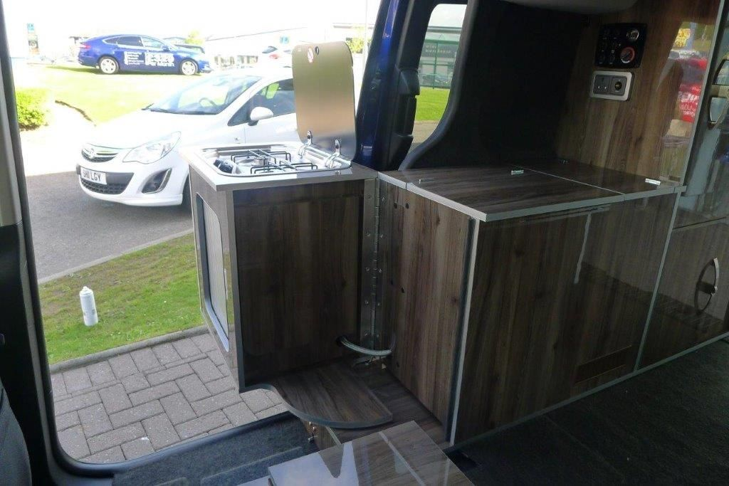 Ford Evie Connect Zetec 1 5tdci 120ps Automatic In Magnetic Wellhouse Leisure Ford Transit Connect Camper Ford Transit Transit Connect Camper