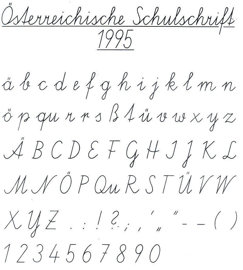 schulschrift