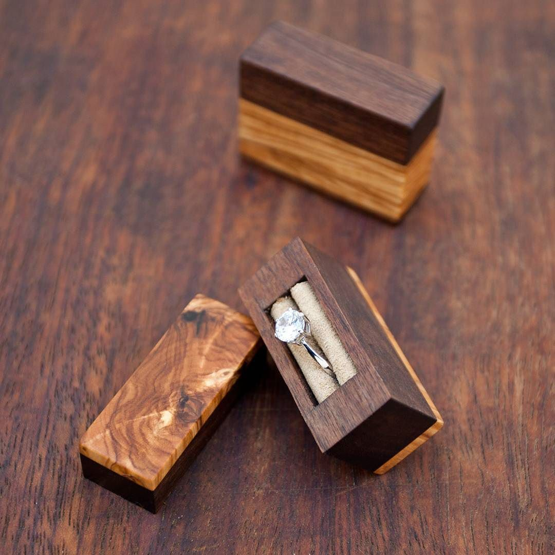 Like the box | Handmade ring box, Ring box wedding diy ...