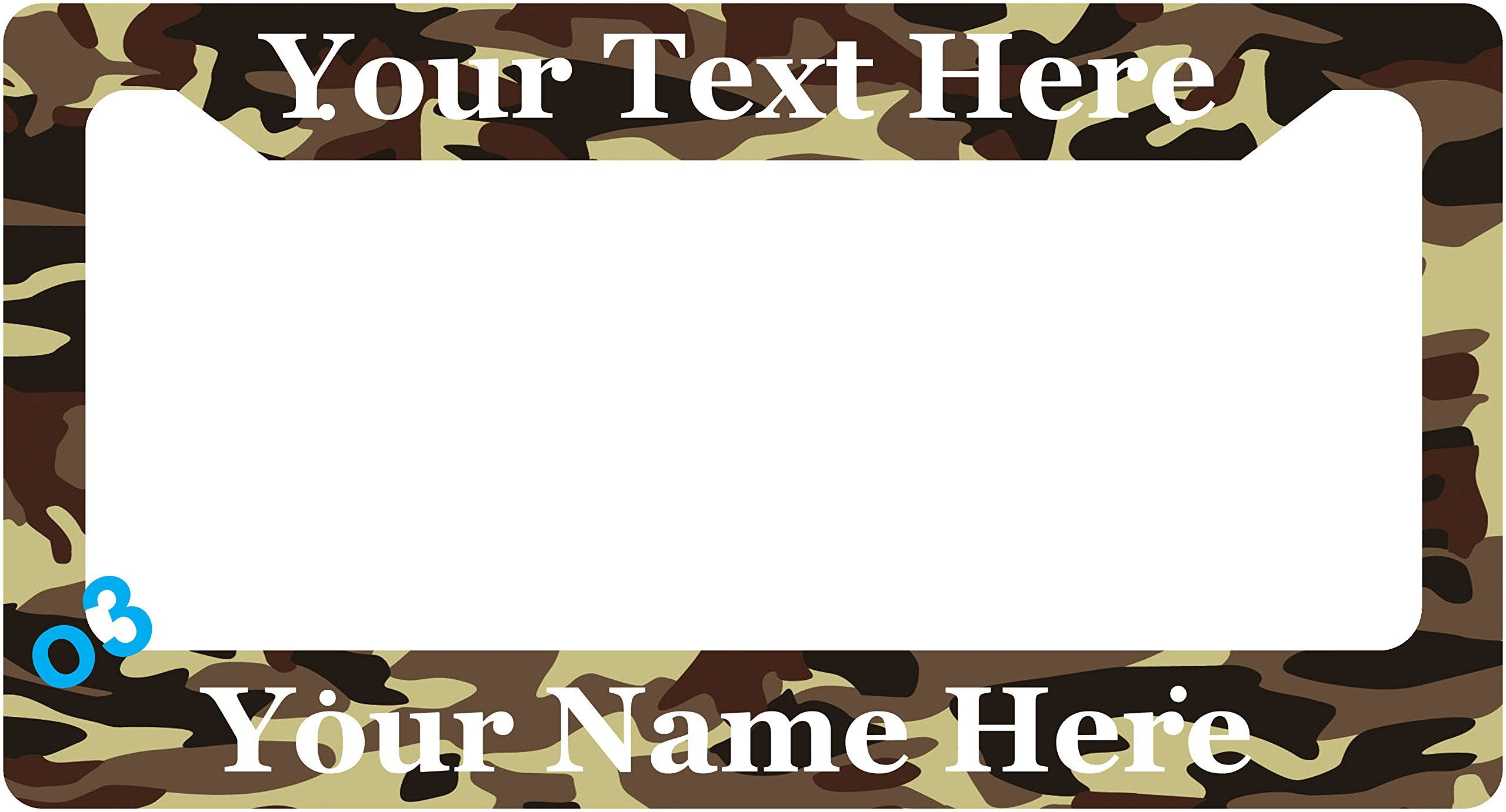 Custom Make Your Own Military U.S. Branch Personalized License Plate ...