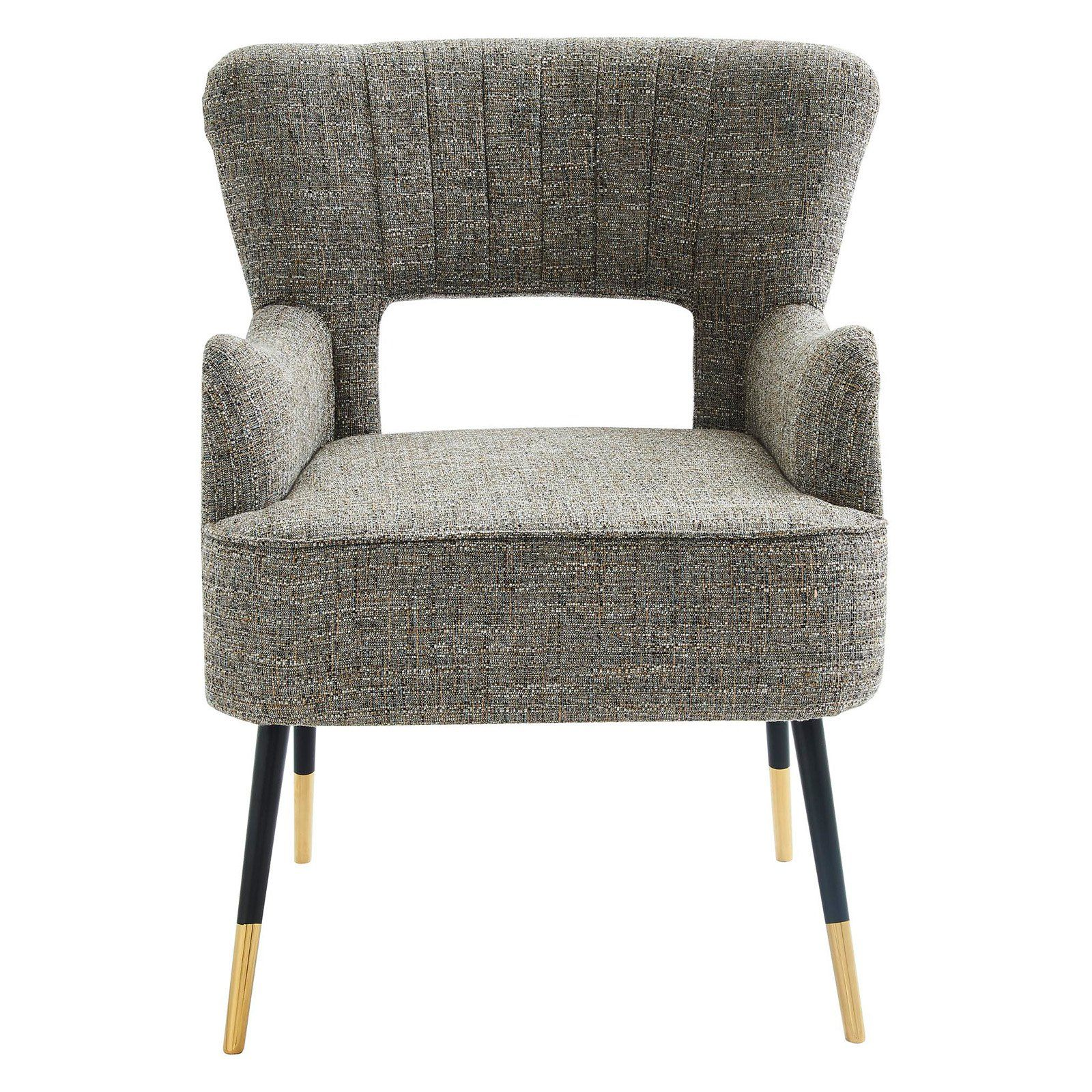 Admirable Nspire Mid Century Cut Out Accent Chair Gray In 2019 Pabps2019 Chair Design Images Pabps2019Com