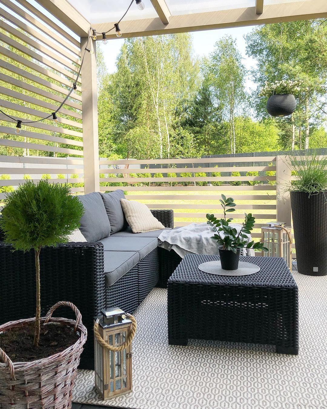 3-Piece Rattan Outdoor Sectional Sofa Set