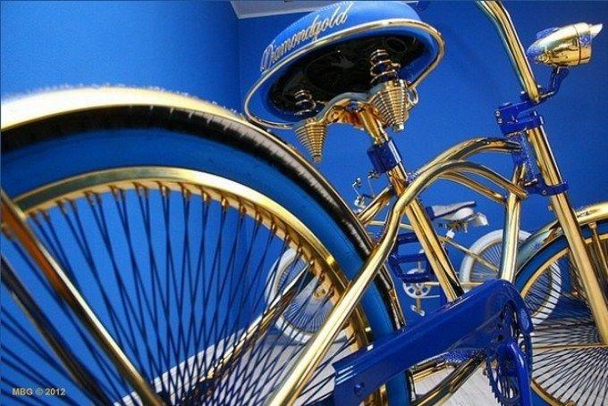 Swarovski-studded Bike