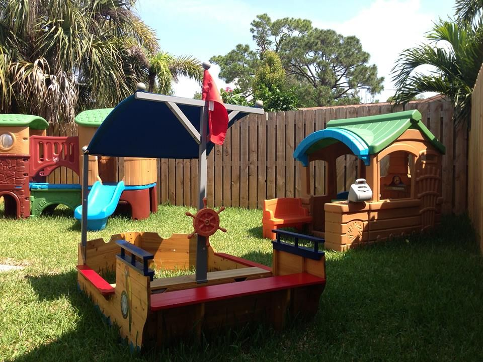 Pin By The Kids Place Preschool On Home Daycare Outdoor Area