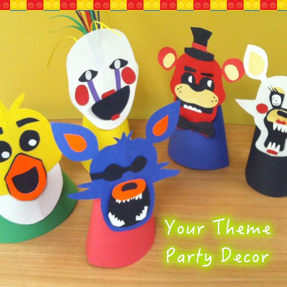 Five Nights at Freddys Party Table Decorations CustomMade Per