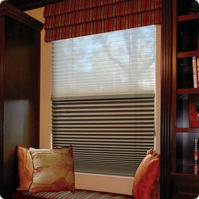 Day/Night Cellular Shades - Options | Simple Fit | Blackout Shades ...