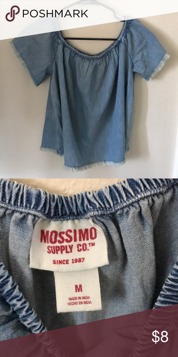 6d529a8a65b Mossimo Supply Co. from target You can put the sleeves down Mossimo Supply  Co. Tops Blouses