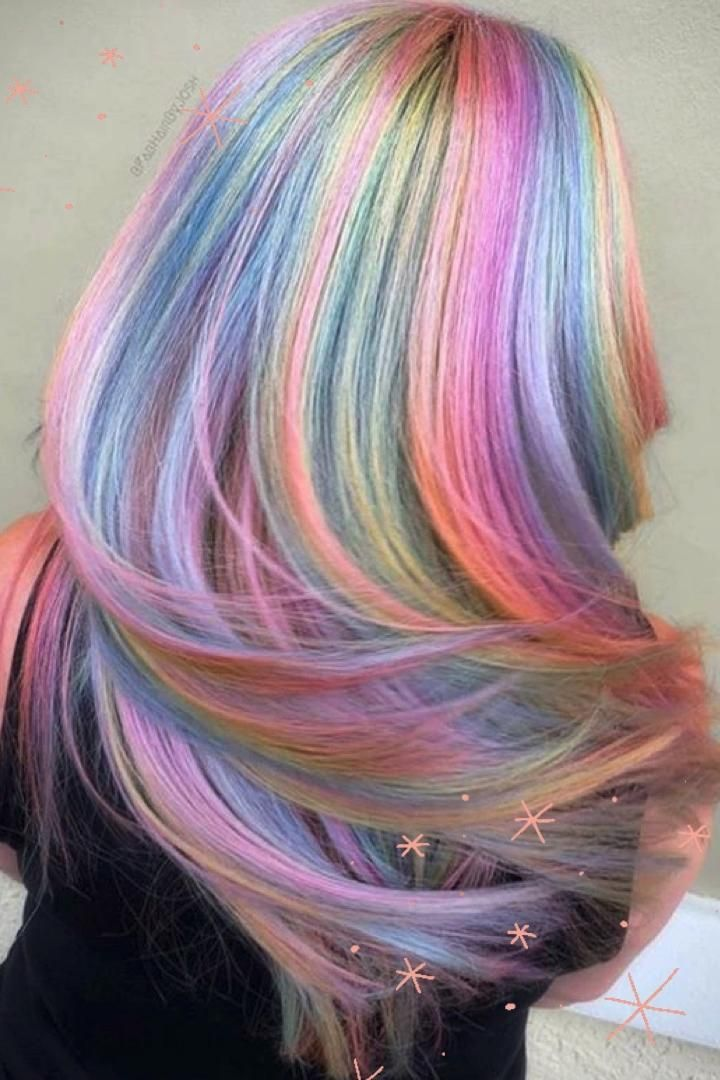 22 Rainbow Hair Ideas To Get You Ready For Pride