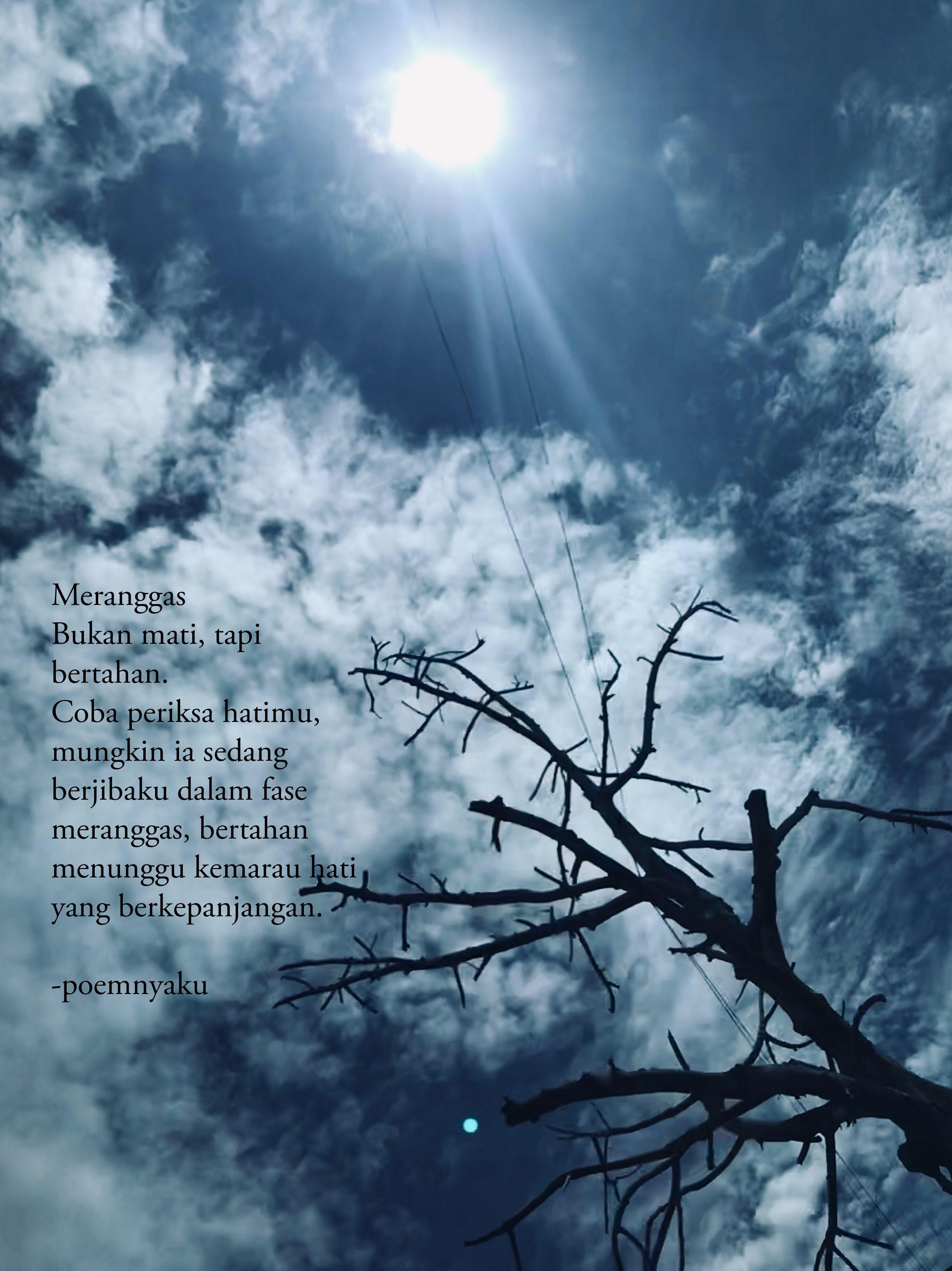 Meranggas Kata Kata Indah Langit Biru Langit