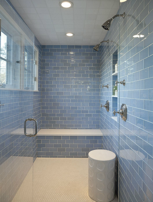 New Haven Glass Subway Tile 3 X 12 In Bathroom Remodel Shower