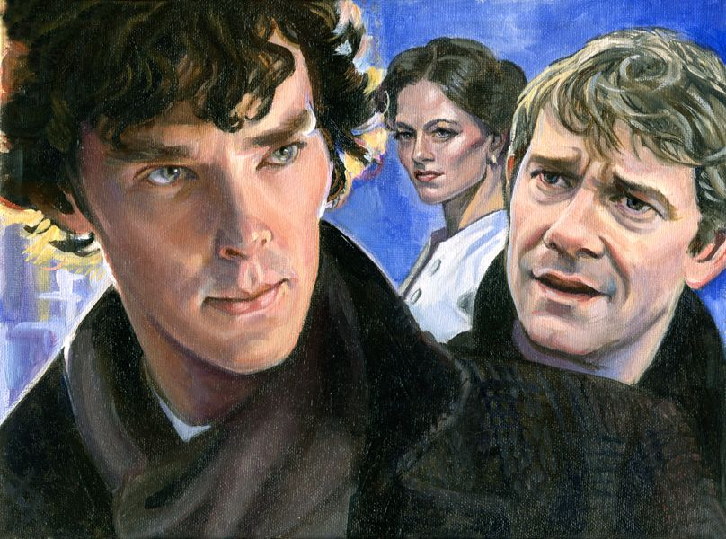 "Holmes Big Bang Artwork for ""Losing the Veil"" by Sunryder."