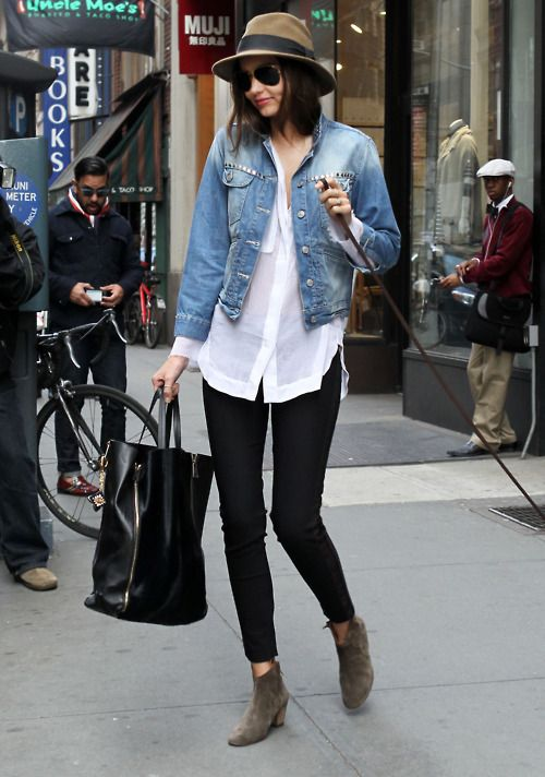 1000  images about Denim jacket on Pinterest  Cute jeans Flat