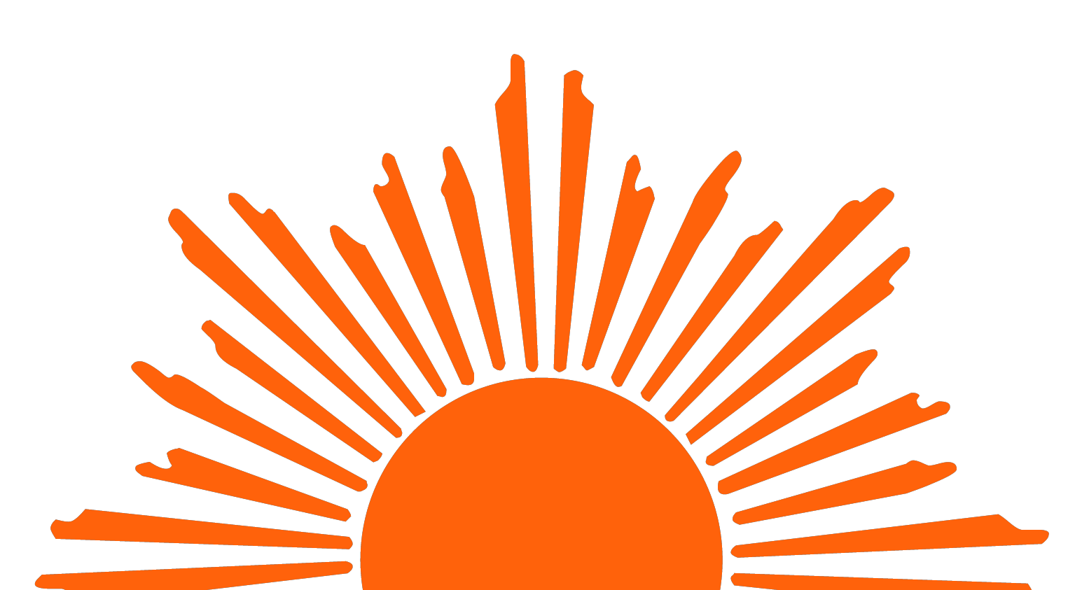 hight resolution of rising sun clipart cliparts co