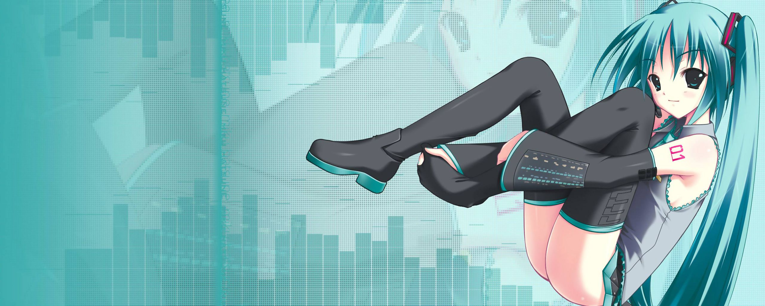 Hatsune Miku Wallpaper Free Download Dual Monitor Anime Hd