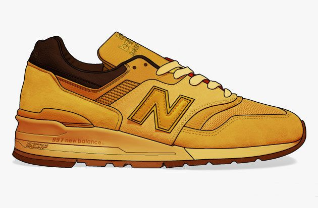 b1a19b0d7c0 Kanye West x New Balance 997 Collection Mock Ups