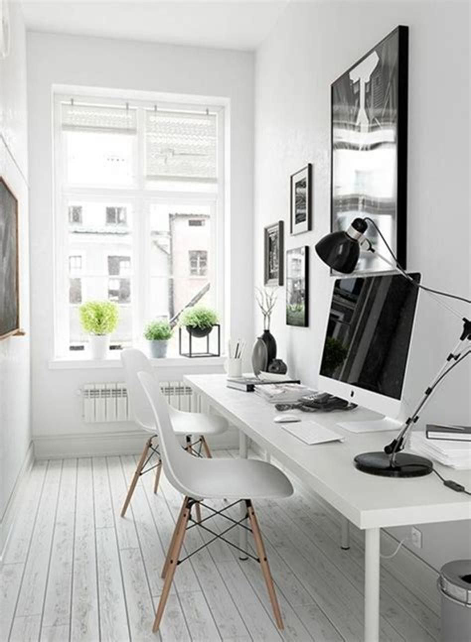 48 Best Small Home Office Design And Decorating Ideas Small Office Design Home Office Design Office Interior Design