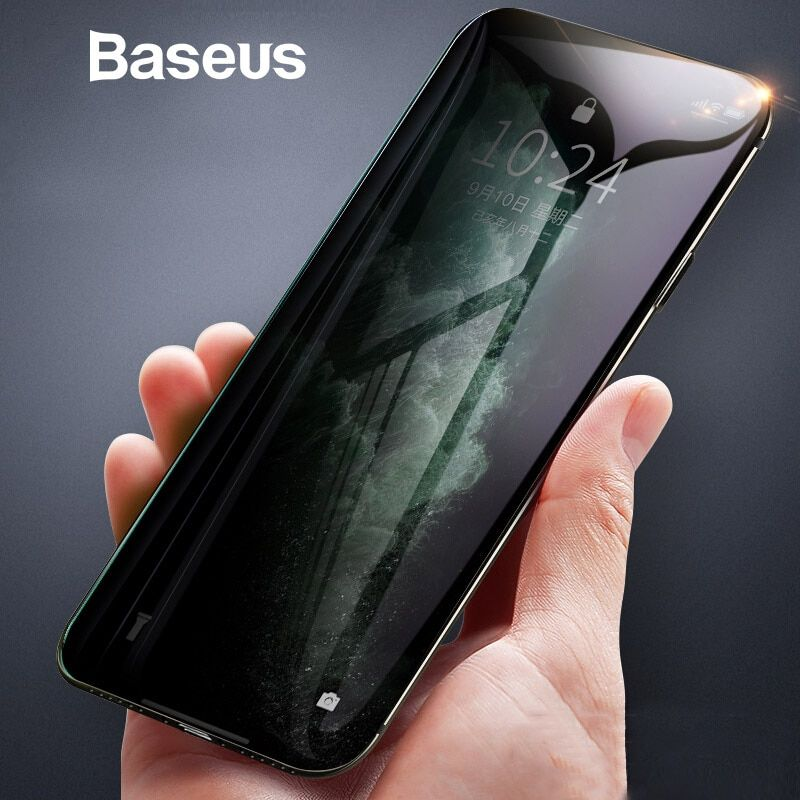 Baseus antispy privacy tempered glass for iphone 11 pro