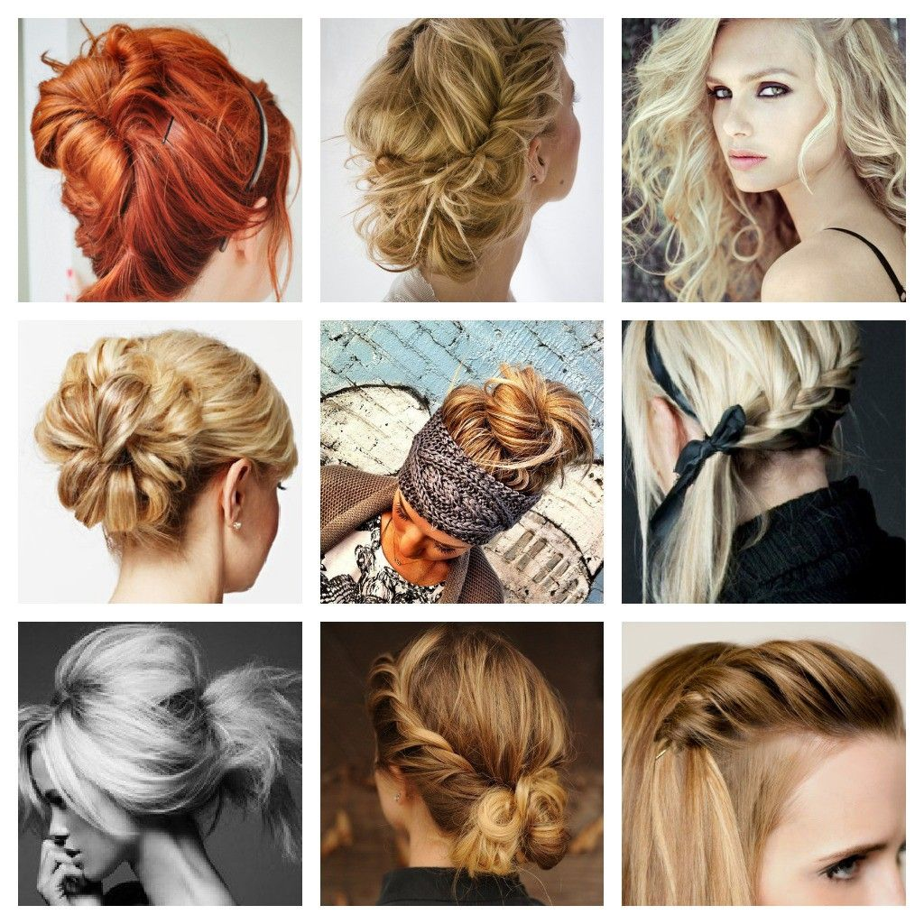 Step By Step Pretty Hairstyles