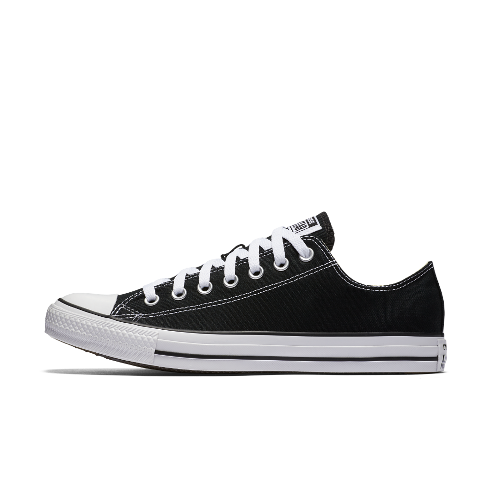 Converse Chuck Taylor All Star Low Top Shoe Size 4 (Black