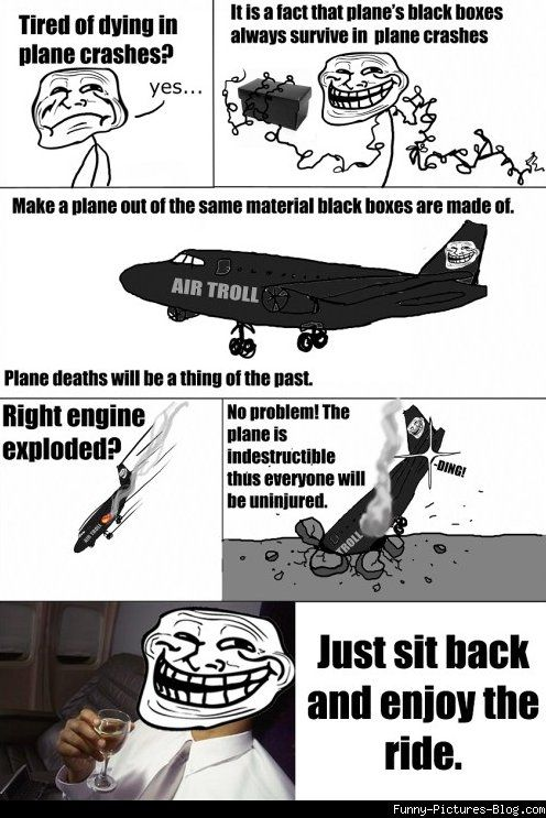 35262360514e2fc1603b8c9114b525b1 troll comics how to survive plane crash funny pinterest,Funny Meme Manufacturing Airplanes