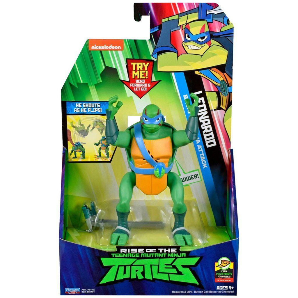 Nickelodeon Rise of the Teenage Mutant Ninja Turtles Leonardo Action Figure TMNT