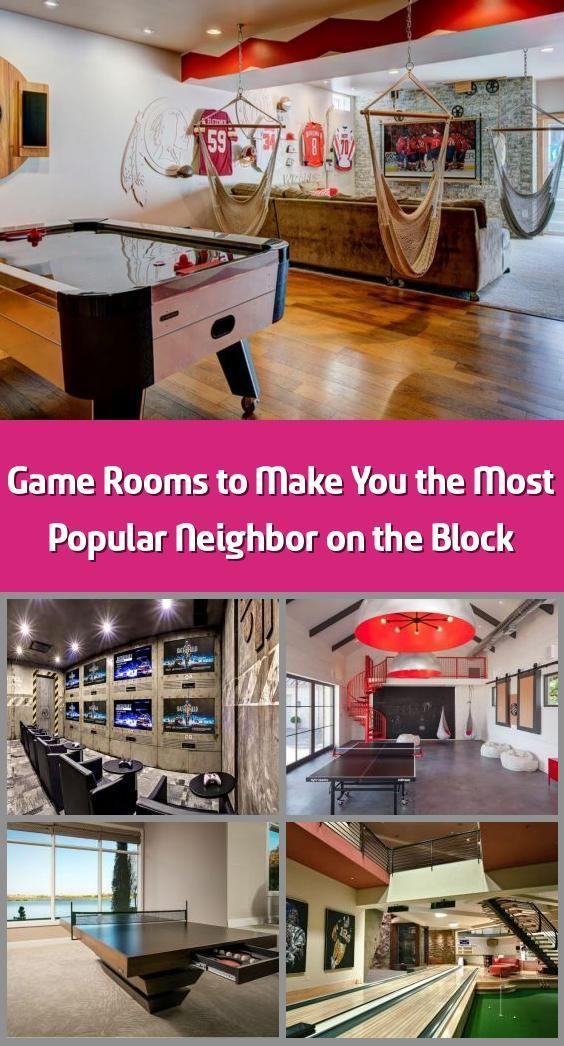 Photo of Spielzimmer, um Sie zum beliebtesten Nachbarn auf dem Block zu machen – Ein Spielzimmer (oder …
