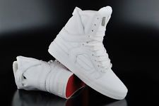 e0b1350bbe44 SUPRA SKYTOP II WHITE RED WHITE S01060 HIGH TOP SNEAKER