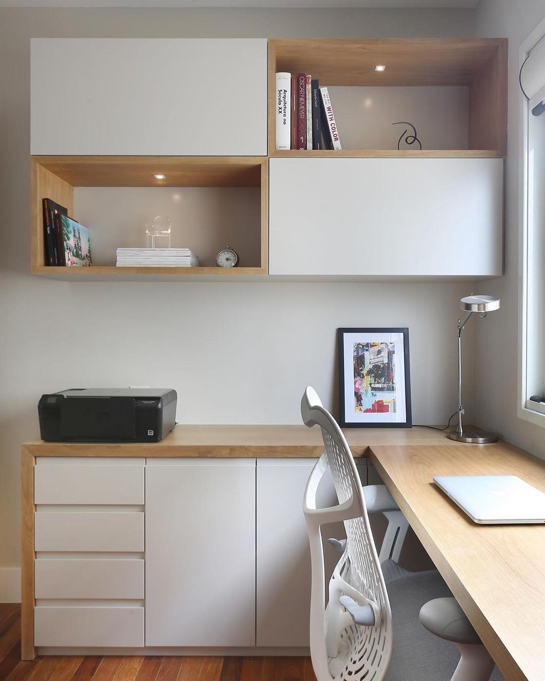 Comoda com escrivaninha planejada