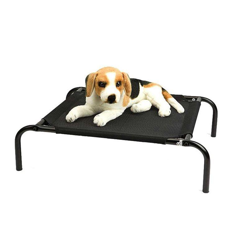 ペットベッド ペットコット 脚付きコット型 スチール製フレーム 折り畳み式 キャンプ用 犬猫用 ペットベッド ペット ドッグベッド