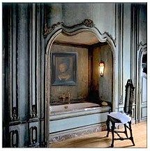 """See this bathroom in my article, """"Decorate A Dreamhouse - A Belgian Castle,"""" http://somethingbeautifuljournal.blogspot.com/2010/04/decorate-dream-house-belgian-castle.html"""