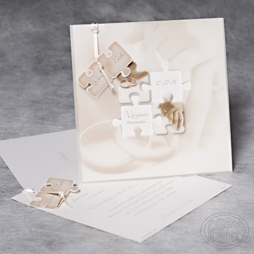Wijtrouwen Com Uitnodiging Puzzel Trouwkaart Uitnodiging Trouwen