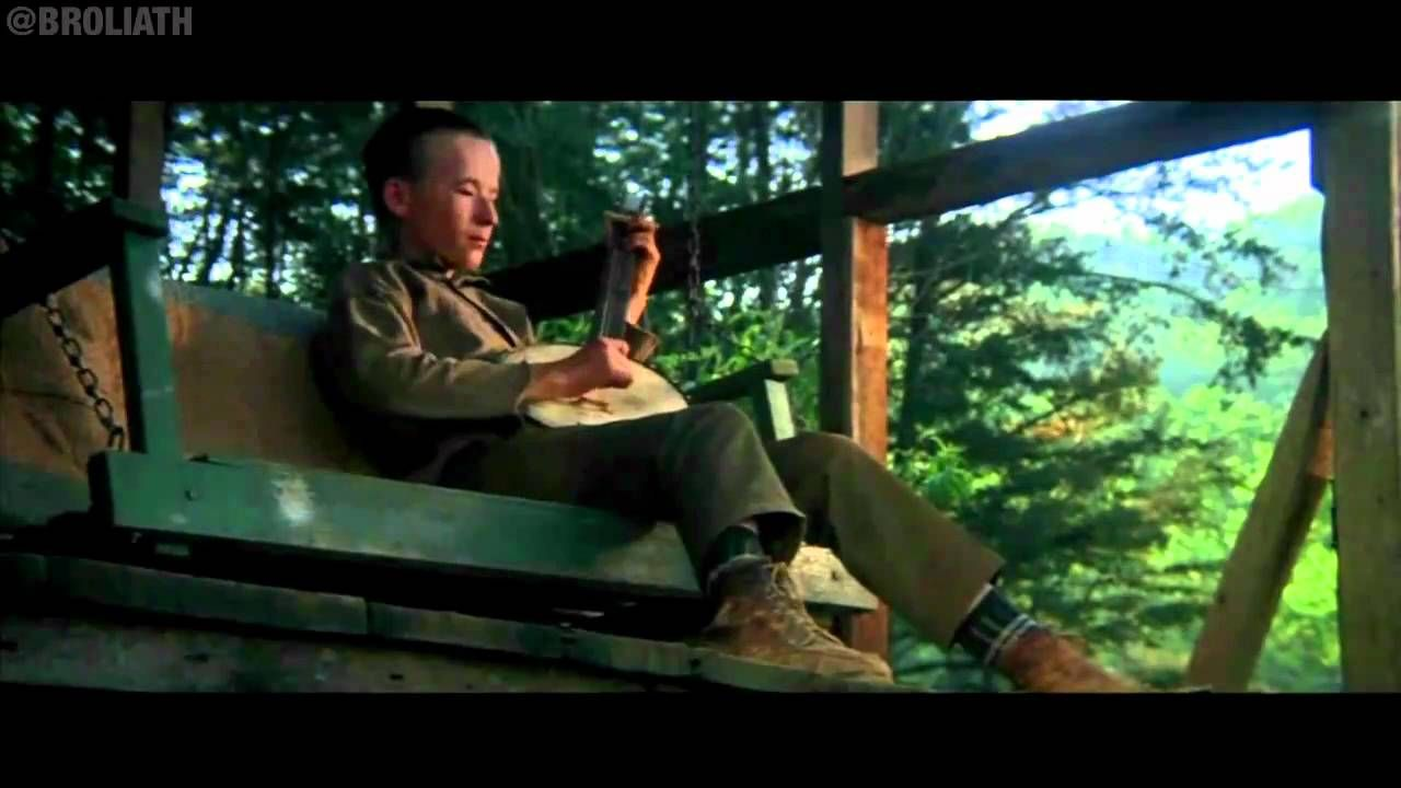 Dueling Banjos Hd The Most Famous Dueling Banjoguitar Scene