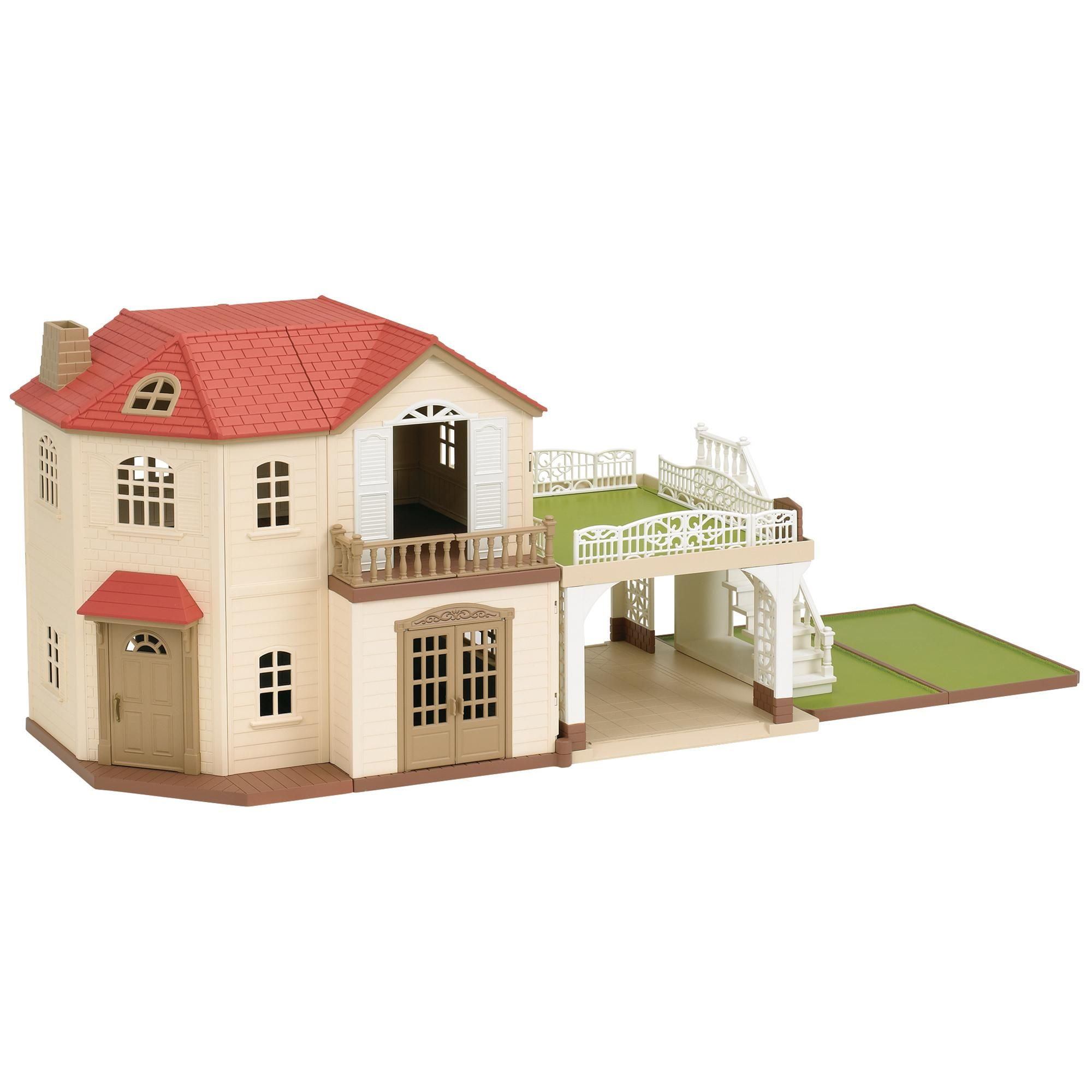 Sylvanian Families Maple Manor With Carport | Calico Critters Larger ...