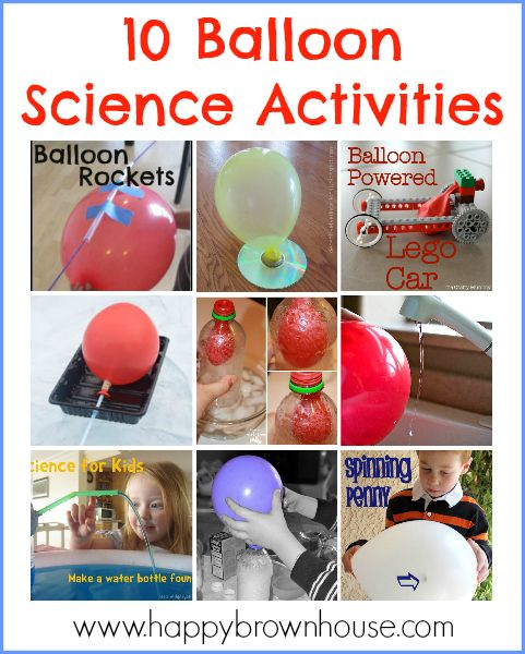 Balloon Science Experiments For Kids Science Experiments