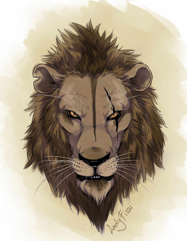 Lion King King Scar By Ladyfiszi On Deviantart Con Imagenes
