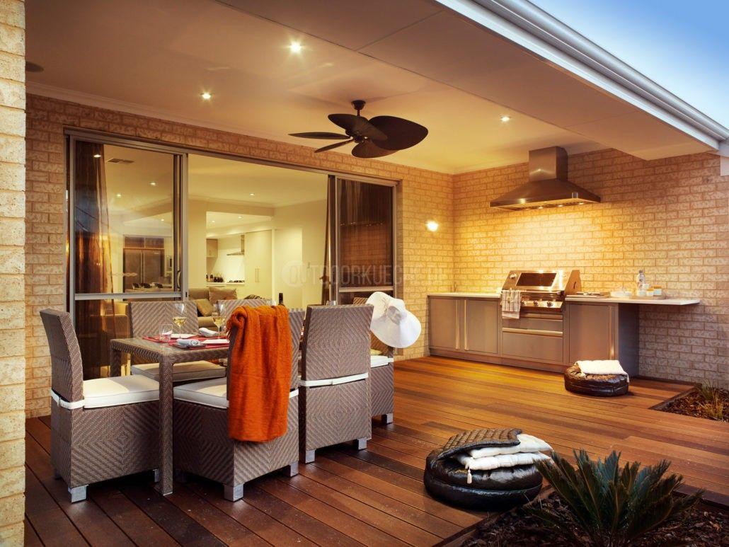 BeefEater Außenküche auf der Veranda // BeefEater Outdoorkitchen ...