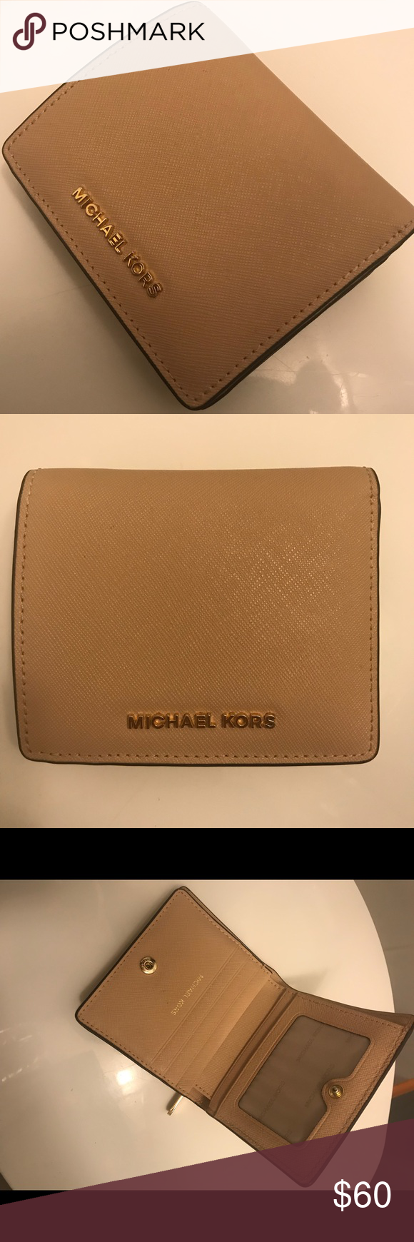 678968956b9ac Michael Kors Jet Set card wallet