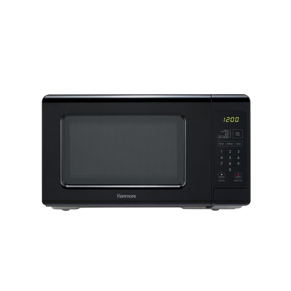 Kenmore 70719 0 7 Cu Ft Countertop Microwave Oven Black