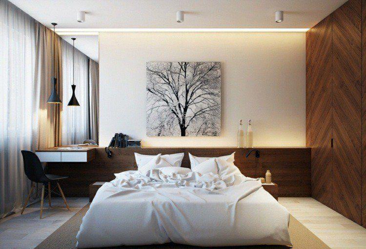 25 idées pour la chambre à coucher moderne de toute taille | deco ...