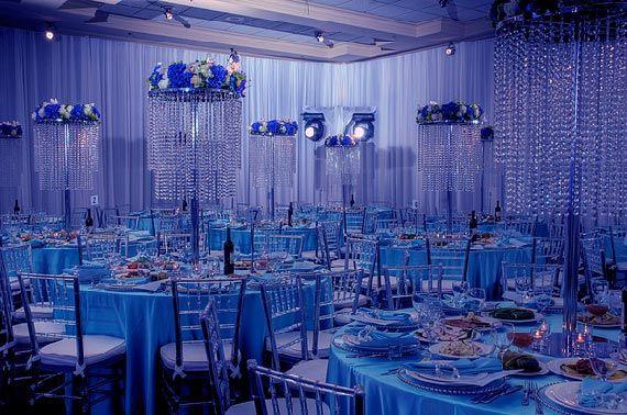 Royal Blue Table Centerpiece Ideas Blue Centerpieces