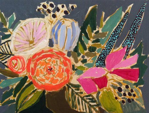 Lulie Wallace floral painting