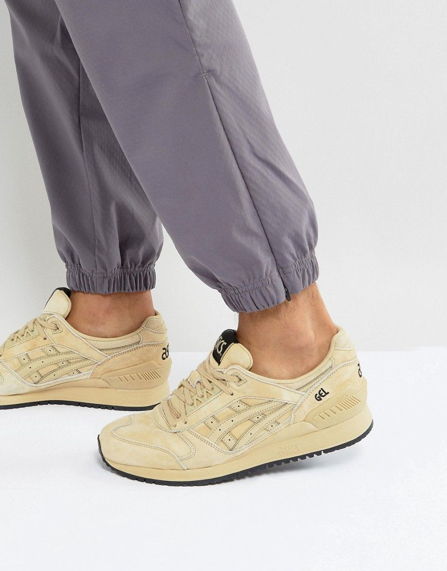 7514146bd513 ASICS GEL-RESPECTOR SNEAKERS IN BEIGE HL7Z4 0707 - BEIGE.  asics  shoes